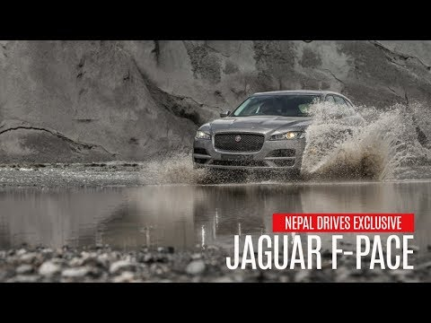 Nepal Exclusive: Jaguar F-Pace |  Nepal Drives
