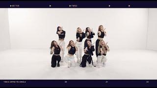 TWICE「BETTER」Dance Practice Video