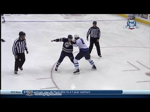 Matt Calvert vs. Jacob Trouba