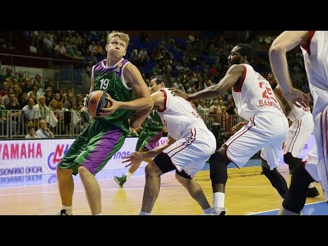 Highlights: RS Round 1, Unicaja Malaga 76-71 Brose Baskets Bamberg