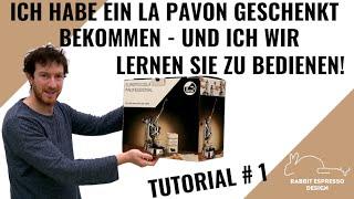 La Pavoni #1: Wie bedient man eine Handhebelmaschine - Die Geschichte hinter meiner Kaffeemaschine
