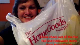 Check out all the fun items at Home Goods Sept 3, 2019