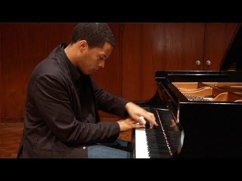 Tourgee Debose Piano Competition program.