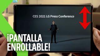 EL TELÉFONO ENROLLABLE!! CES 2021: TODO lo que LG ha presentado en MENOS de 4 MINUTOS