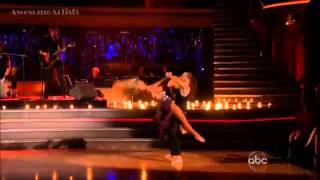 Jason Mraz - I Won't Give Up With Chelsea & Mark - DWTS (Results Country Night)