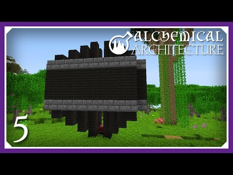 Alchemical Architecture | Evilcraft Blood Farm! | E05 (Magic Modpack Lets Play)