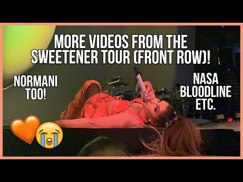MORE ARIANA GRANDE SWEETENER TOUR VIDEOS! (Front Row Bonus Footage) - Meg Megs!