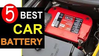 Best Car Battery 2020 🏆 Top 5 Best Car Battery Reviews