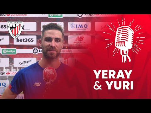 🎙 Yeráy Álvarez y Yuri Berchiche | post Athletic Club 0-2 CD Leganés| J37 LaLiga 2019-20