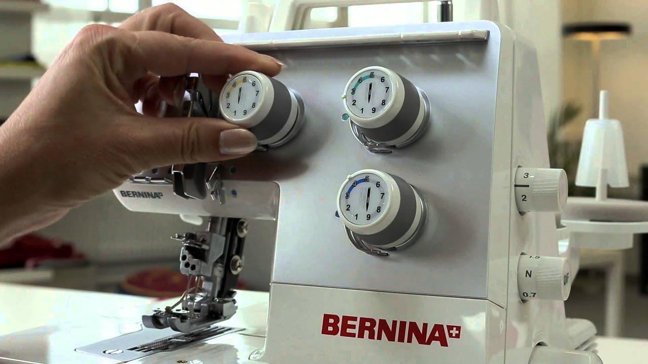BERNINA overlocker L 220: eerste stappen, naaivoorbereiding