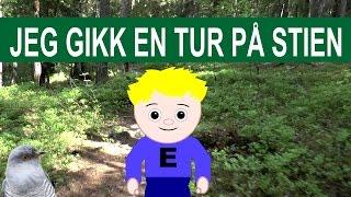 Jeg gikk en tur på stien | Animasjon og tekst