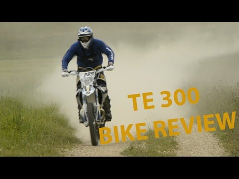 Husqvarna TE 300 2015 / Bike Test review #2 / Deutsch German