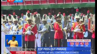 President Uhuru Kenyatta presides over recruitment pass out at RTS Eldoret