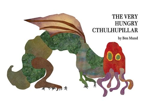 We are very excited to announce that The Very Hungry Cthulhupillar has been printed and is making its way to our warehouse for the new year! We want to spread the love around by giving away copies signed by Ben Mund & Jamie Chambers ... and hope you'll help us spread the word this holiday season.