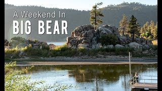 A Weekend In Big Bear Lake: Oktoberfest, Kayaking, Alpine Slide, & More