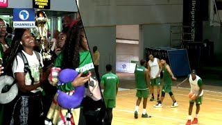 D'Tigress Return Victorious As D'Tigers Prepare For China