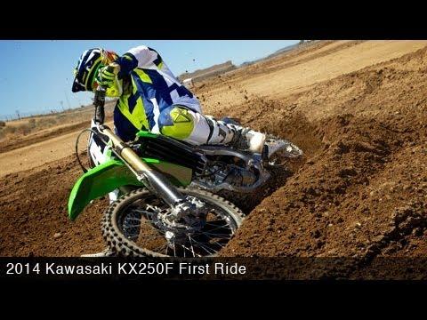 2014 Kawasaki KX250F First Ride - MotoUSA
