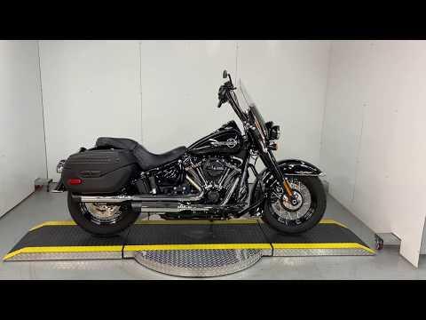 Customized 2018 Harley-Davidson® Softail Heritage Classic FLHCS Under Existing Warranty