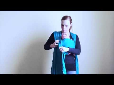 Vorschau: Sling - elastisches Tragetuch - einfacher zu binden