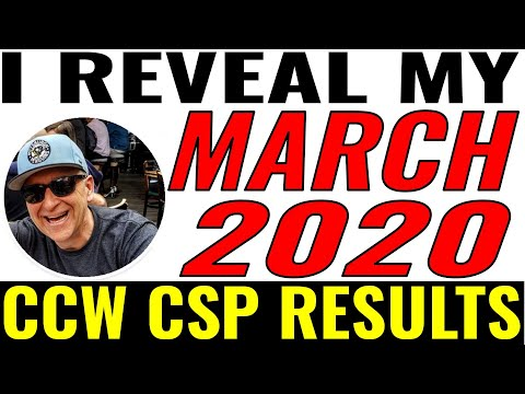 , title : 'WRITING COVERED CALLS - I SHOW YOU my March 2020 numbers and the PERFECT PUT Trade