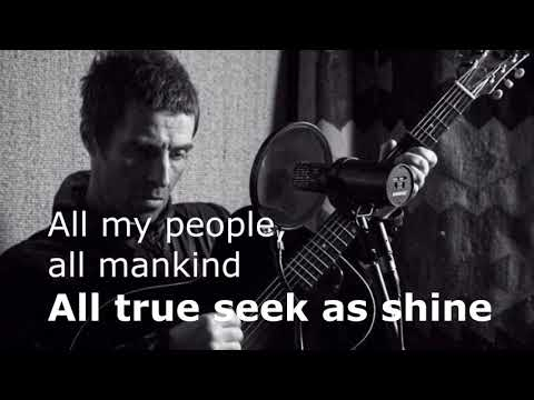 Liam Gallagher - All My People All Mankind (Lyrics)