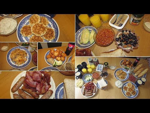 Congolese Breakfast VS British Breakfast