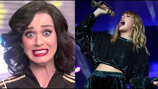 Katy Perry  Reacting to Various Famous Singers!!!