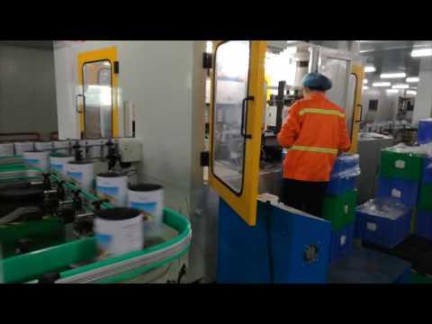 Maquina para fabricar lata de leche de polvo