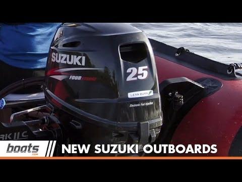 Suzuki 25 and Suzuki 30 Outboards for 2014