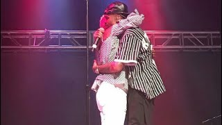 August Alsina and His Mother Reunite on Stage