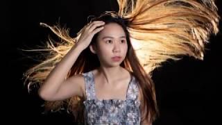 Nissin LS20CS : Light up the floating hair (backlight)