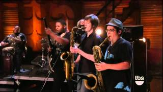 Trombone Shorty Do To Me on Conan 0815