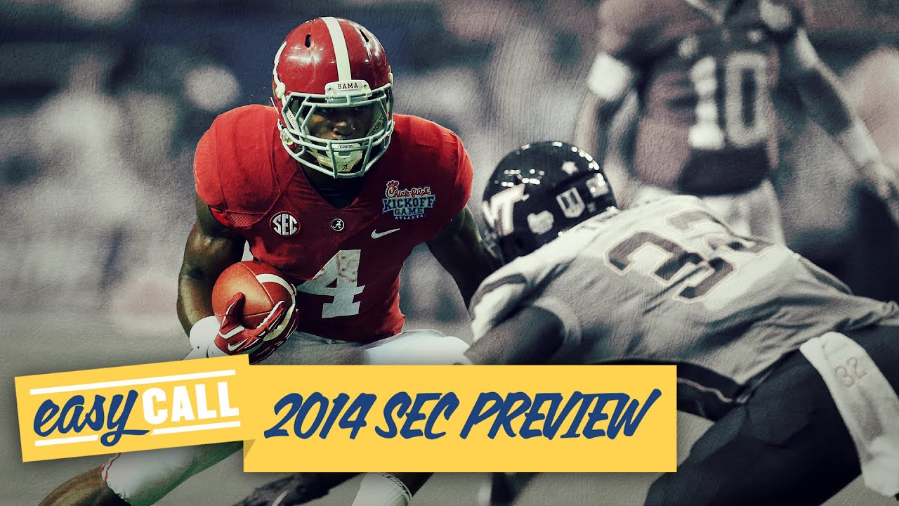 Easy Call: 2014 SEC football preview (with sandwiches andbeer!) thumbnail