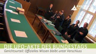 Prozessurteil: UFO-Ausarbeitungen des Bundestages bleiben geheim
