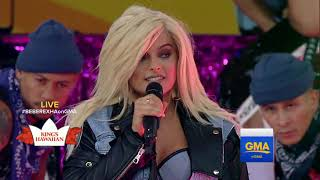"Bebe Rexha: ""Ferrari"" - Live at Good Morning America"