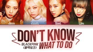 Video BLACKPINK - Don't Know What To Do (Color Coded Lyrics Eng/Rom/Han/가사) MP3, 3GP, MP4, WEBM, AVI, FLV September 2019