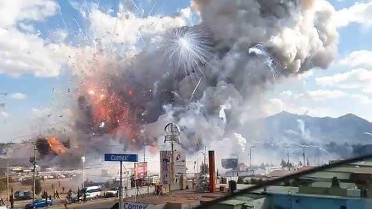 Massive Fireworks Explosion Kills Dozens thumbnail