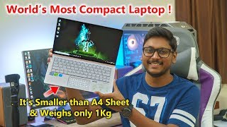 World's MOST COMPACT Laptop Unboxing...