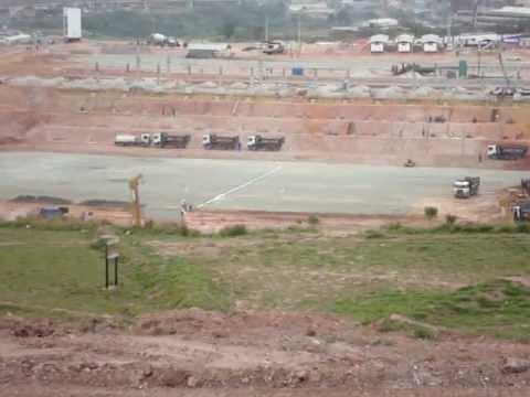 Status das obras do Corinthians, atualizado em 05/10/2011