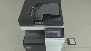 Konica-Minolta bizhub C258 Multifunctional Office Printer review