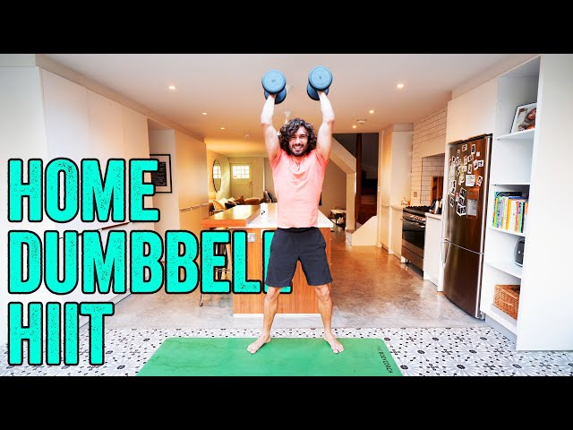 15 Minute Home Dumbbell Workout | The Body Coach TV