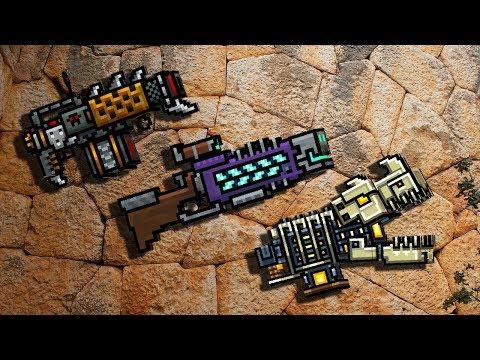 Hedgehog + Deadsmans Rifle + Primal Beast (pixel gun 3d)