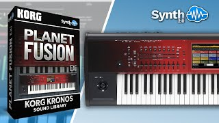 Planet Fusion - Derek Sherinian  Sound Bank  for Korg Kronos - Part 1 (Synthcloud Library)