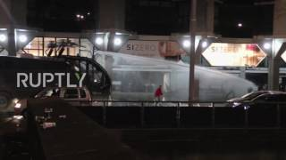 Netherlands: Water cannon unleashed as police clash with Turkish protesters in Rotterdam