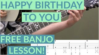 Happy Birthday To You Beginner Banjo Lesson