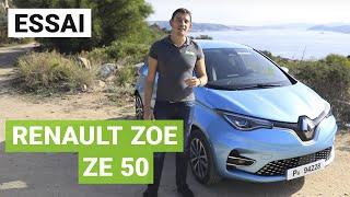 Essai nouvelle Renault ZOE ZE 50 (2019)