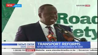 NTSA transport conference focus on the road safety and reforms