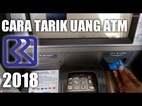 Cara Menarik Uang di ATM BRI Terbaru 2018