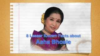 8 Lesser Known Facts About Asha Bhosle