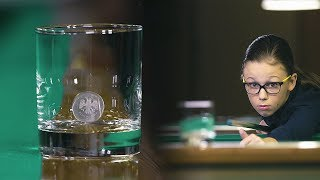 «Удивительные люди». Валерия Кондратьева. Чемпионка России по русскому бильярду